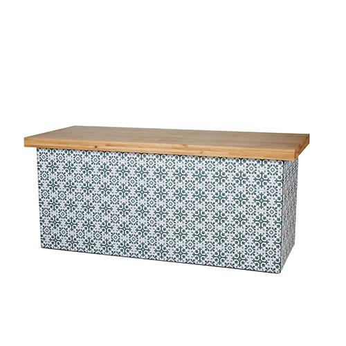 iron oak buffet 200 x 80 cm westerhuis verhuur. Black Bedroom Furniture Sets. Home Design Ideas